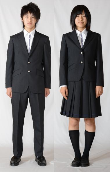 能登川高等学校制服画像